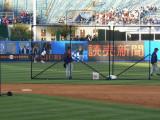 Batting practice winding down