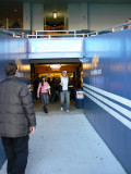 Walkway to the concessions