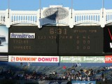 Outfield scoreboard