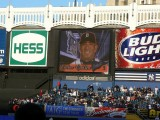 Pregame introductions on the big screen