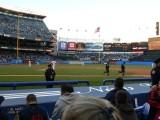 Yankees take the field