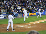 First Yankee run scored by Shelley Duncan