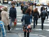 5th Avenue: Pedestrians, pedestrians, pedestrians