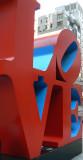 Famous NYC sculpture closeup