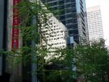 Reflection in the MoMA facade