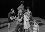 FALL INTERMEDIATE ACTING CLASS STUDENTS AT THE FLAT ROCK THEATER  -  ISO 400