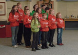 YOUTH THEATER GROUP PERFORMS THEIR ANNUAL CHRISTMAS SHOW  -  ISO 800  -  f2.8 @ 1/13 SECOND