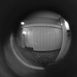 LOOKING THROUGH THE PEEP HOLE  -  ISO 800