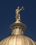 RESTORED HENDERSON COUNTY COURTHOUSE DOME