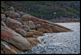 Granite near South East Point landing ramp 3