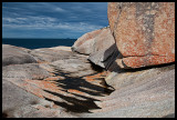 Granite near South East Point landing ramp 4