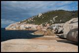 Granite near South East Point landing ramp 5