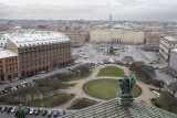 St. Petersburg, view from St. Isaacs