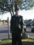 Jeff's Graduation at Fort Sill, Oklahoma - October 25-26, 2008