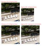 Sigma DP1 - Olympus E3 Comparison 02