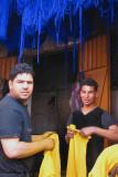 Men working in the zoco in Marraqueix