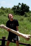 Stone age man - Home de l'Edat de Pedra - Hombre de la Edad de Piedra