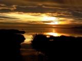A sunset in the Banya Bay - Puesta de sol en el Delta del Ebro - Posta de sol a la Bahia dels Alfacs