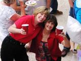 Ginny and Karen at Maria's Party