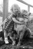 1951 - Ginny and her Dog