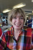 Ginny on the Washington State Ferry