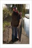 Aldo a attrapé un gros poisson