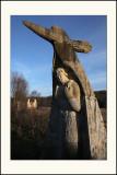 Les sculptures de la DhuysVue de 3/4