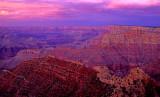 (GC15) After sunset, Grandview Point, Grand Canyon, AZ
