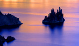 (PNW6) Phantom Ship sets sail, Crater Lake, OR