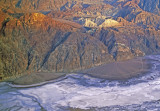 (AR2) Alluvial fans at the base of the Funeral Range, Death Valley National Park, CA