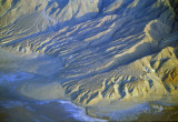 (AR10) Alluvial fans uplifted and dissected with new fans at their toes, Death Valley National Park, CA