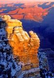 (GC1) Mather Point sunrise, Grand Canyon, AZ