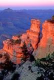 (GC4) Last light, Yaki Point, Grand Canyon, AZ