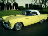 Don & Carol's 1955 Goldenrod Thunderbird