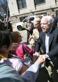 Shaking Hands with John McCain
