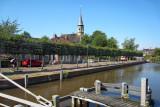 Onderdendam - Boterdiep met kerktoren
