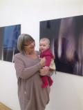 Granny, Kitty Mai, and Granny's work at MA Show
