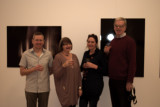 Steve Avery ,Me, Veronica Grassi and Chris Wilmott