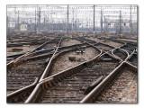Bei den Gleisen - Zürich HB / at the rails - Zurich main station