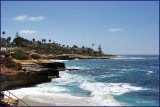 La Jolla California on the coast of the Pacific Ocean