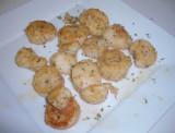 I made scallops!