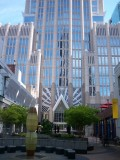 Hearst Tower and courtyard (PwC building)