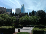 Park in middle of Charlotte