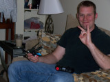 Mike visits!  A fun weekend of man activities