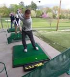 Me being a golfer