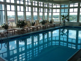 Rich's rooftop pool at The Classic in Stamford