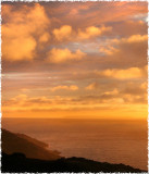 Evening Over Lundy Island, late August