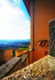 Via Sant' Appolinare, Fiesole: down