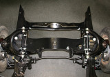 Front suspension above
