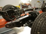 Completed rolling A-body chassis 2